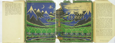 The Hobbit dustcover